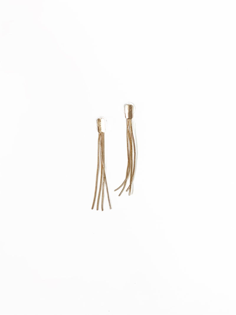 The Mona Earrings Gold