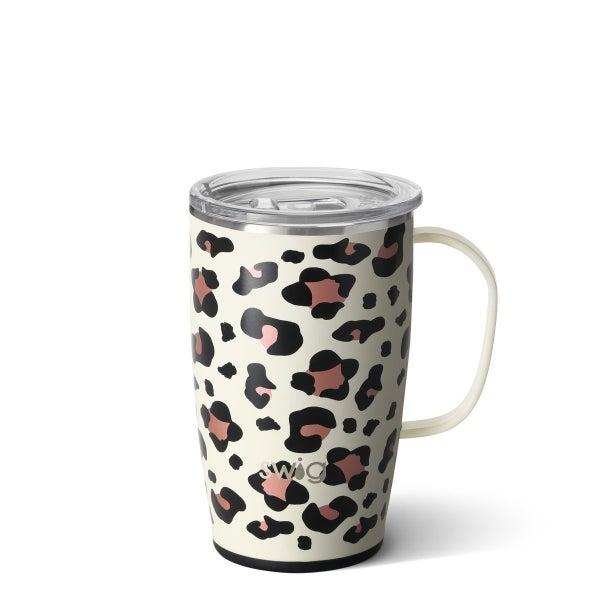Luxy Leopard Swig Travel Mug