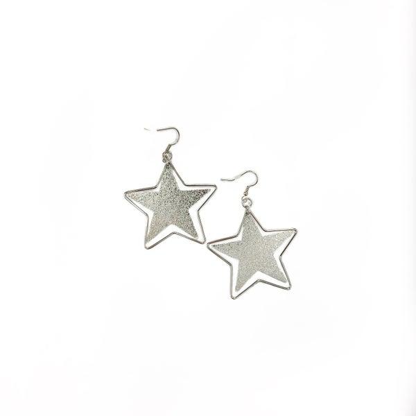The April Earrings Silver