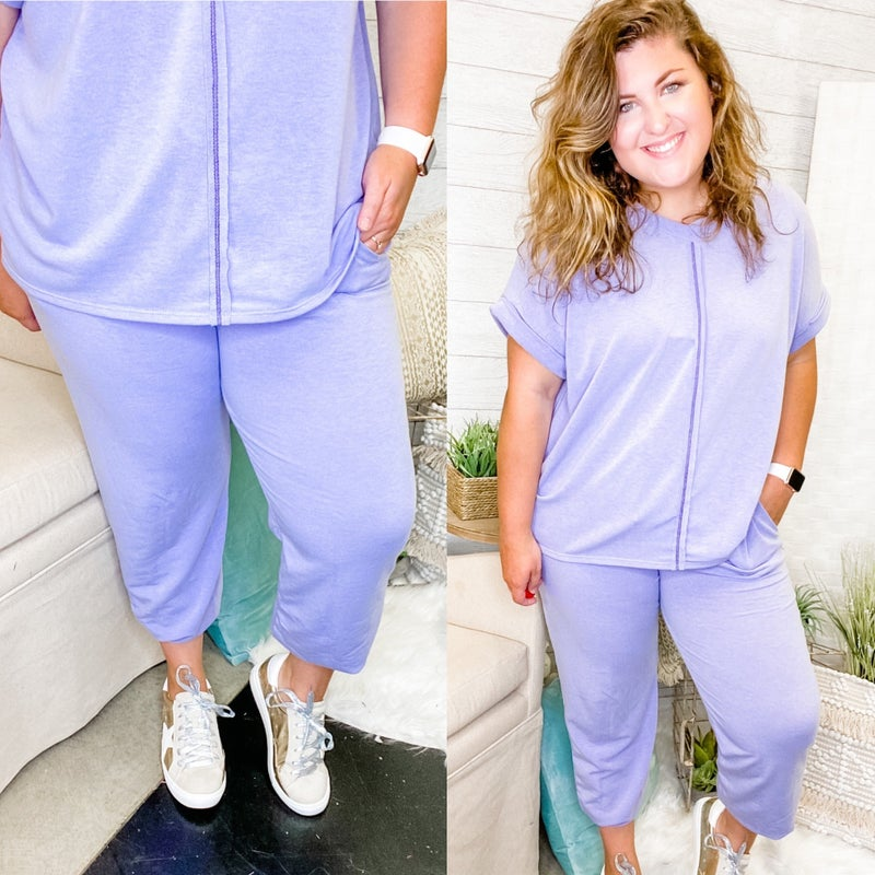 Lilac Or Not Joggers