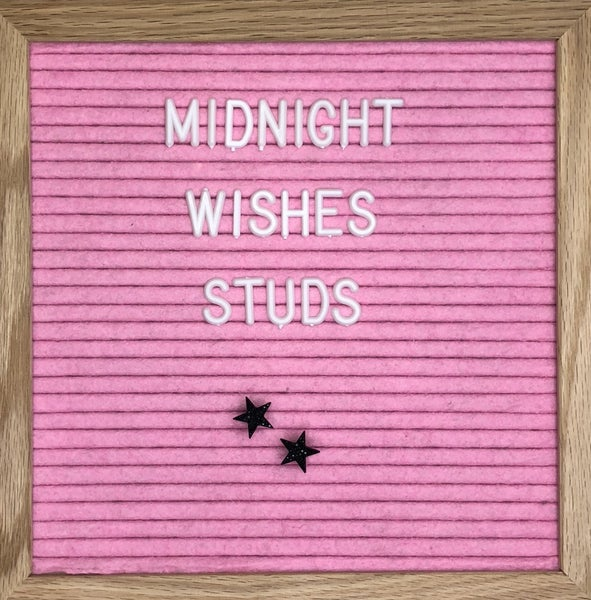 Midnight Wish Studs