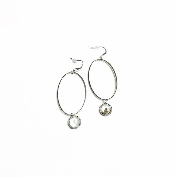 The Rory Earrings Silver