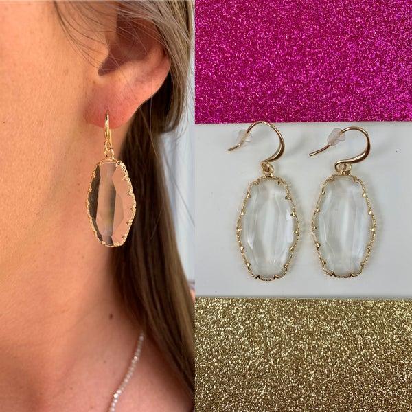 Just A Little Shine Earrings