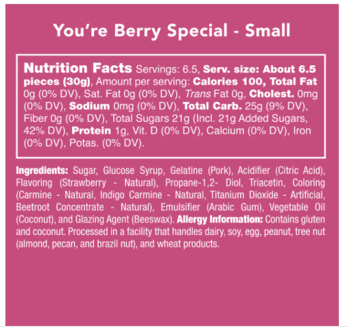 You're Berry Special
