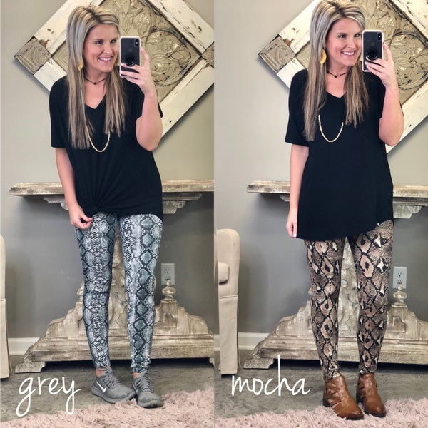 Sneak On Out Leggings FINAL SALE