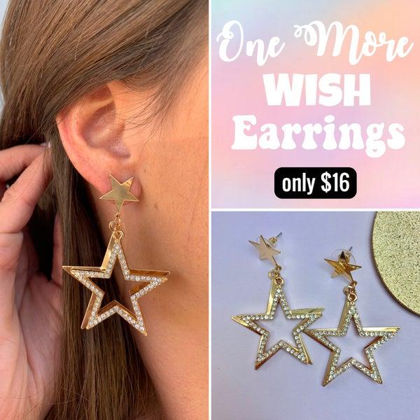 One More Wish Earrings