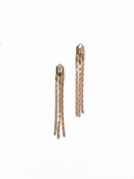 The Stevie Earrings Gold