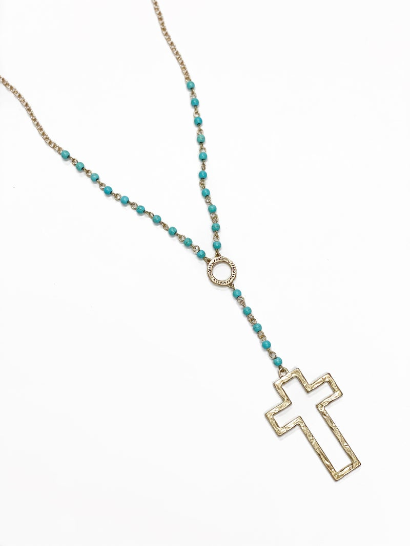 The Gloria Necklace Turquoise