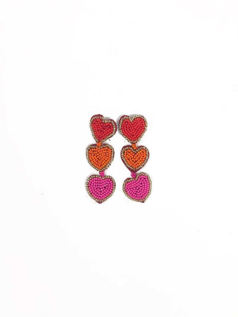 Full Heart Earrings