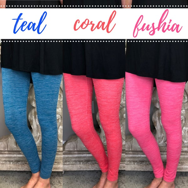 * Plan On It Fleece Leggings FINAL SALE