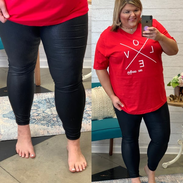 Ready For This Active Leggings Plus *Final Sale*