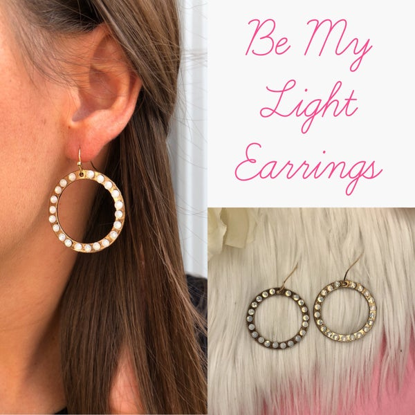 Be My Light Earrings