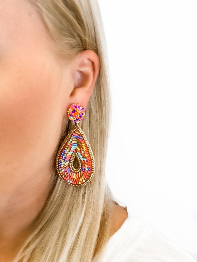 The Breanna Earrings Multi