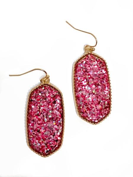 The Lila Earrings Pink