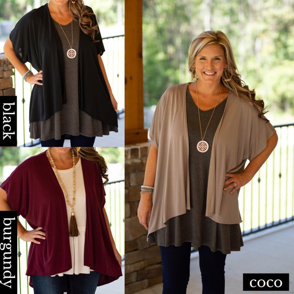 No Need To Think Cardigan *Final Sale*