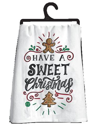 Have A Sweet Christmas Tea Towel