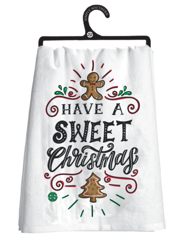 Have A Sweet Christmas Tea Towel