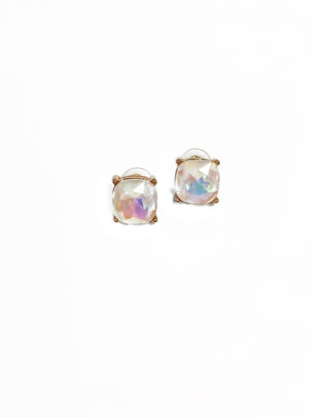 The Lilah Studs White