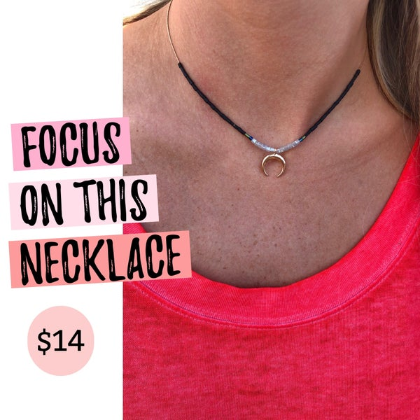 Focus On This Necklace