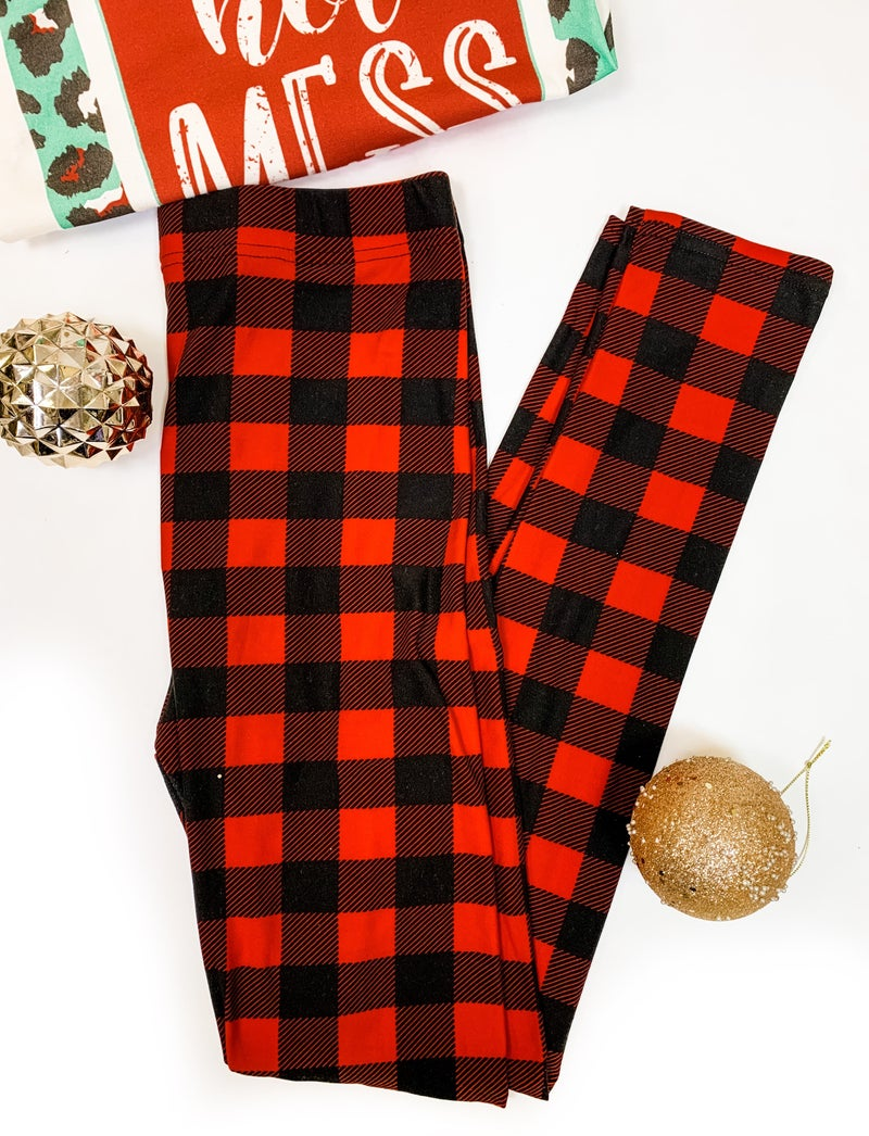 Cozy By The Fire Leggings - Black Friday 2020 *Final Sale*