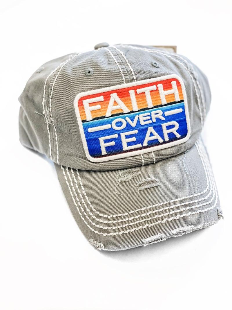 Faith Over Fear Hat