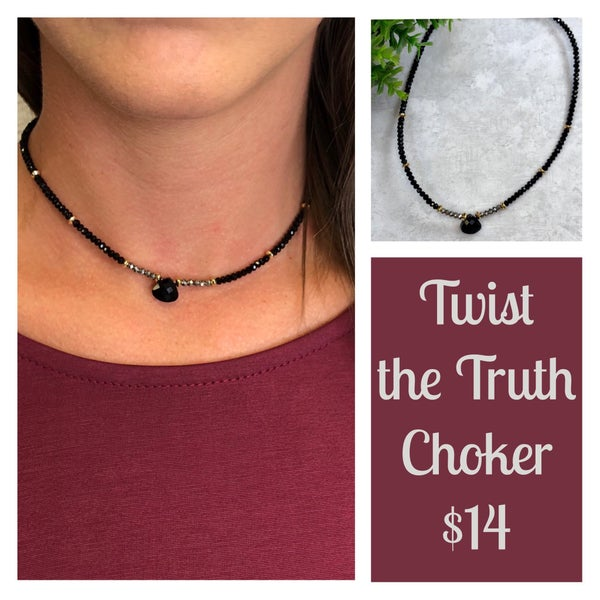 Twist The Truth Choker