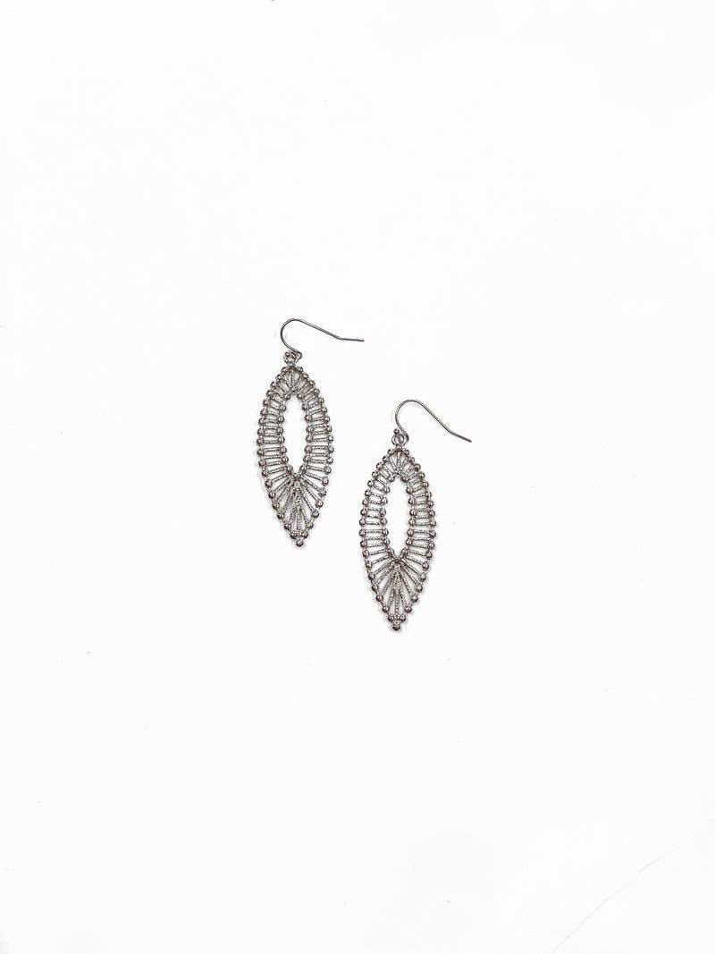 The Jennifer Earrings Silver
