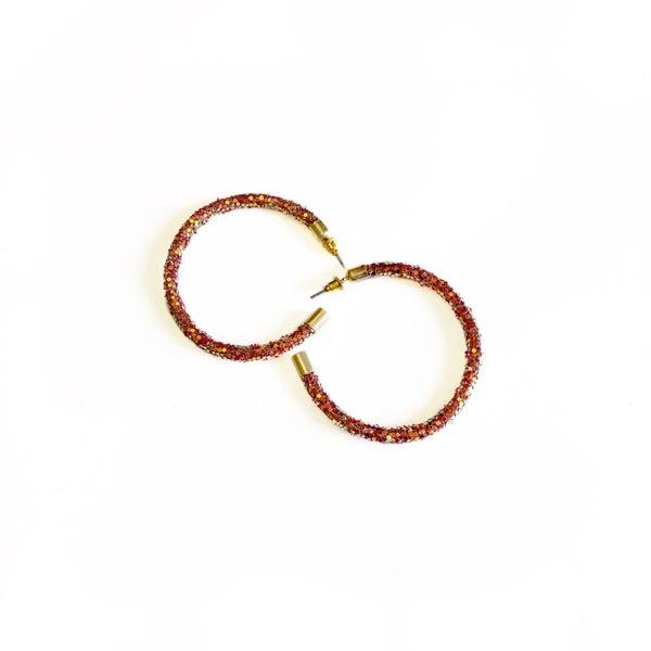 The Calla Hoop Earrings