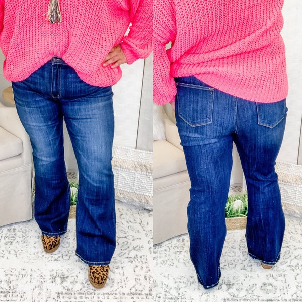 The Darcy Flare Jeans Plus