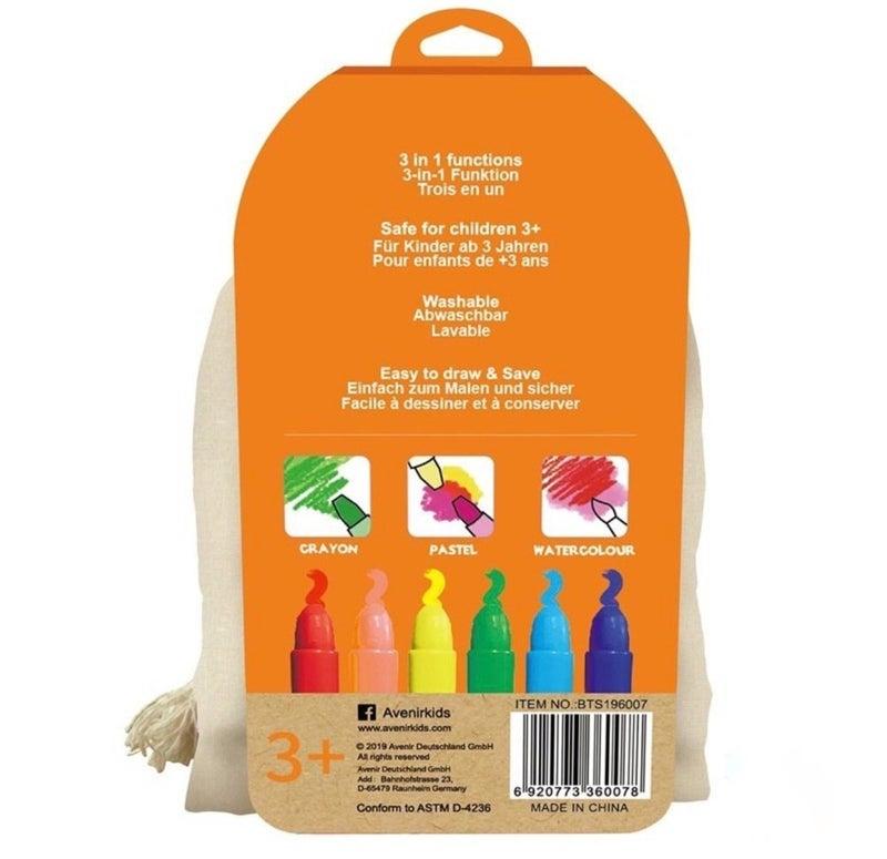 Silky Crayons