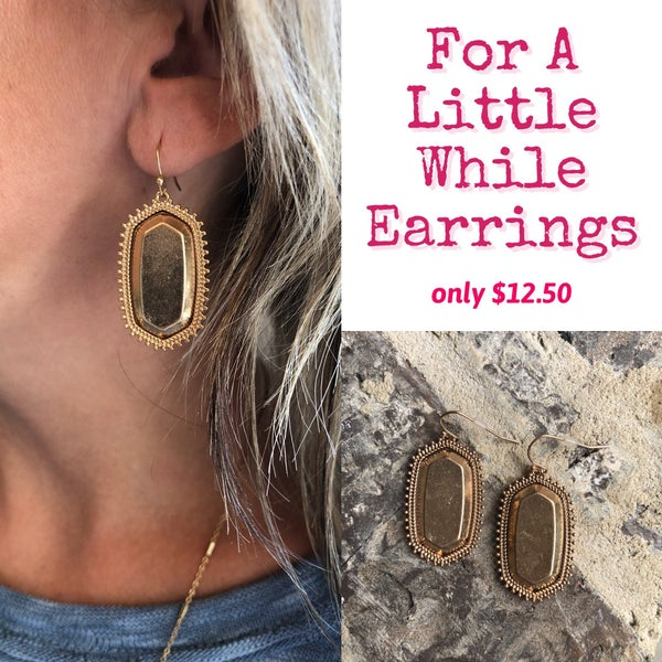 For A Little While Earrings