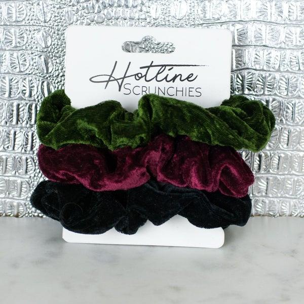 Velvet Scrunchie Set FINAL SALE