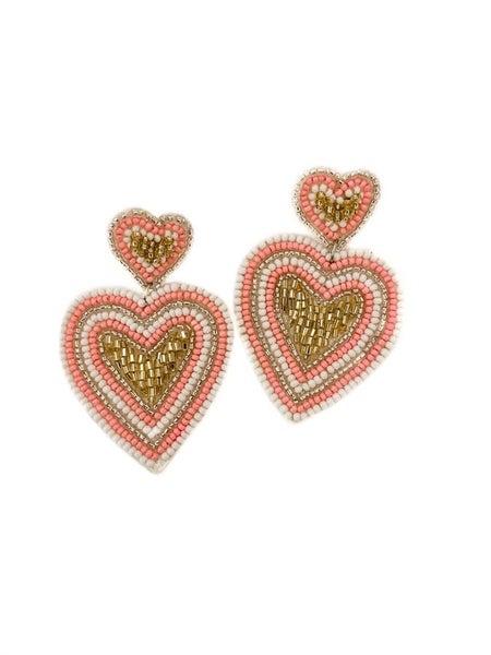 Heart Of Love Earrings
