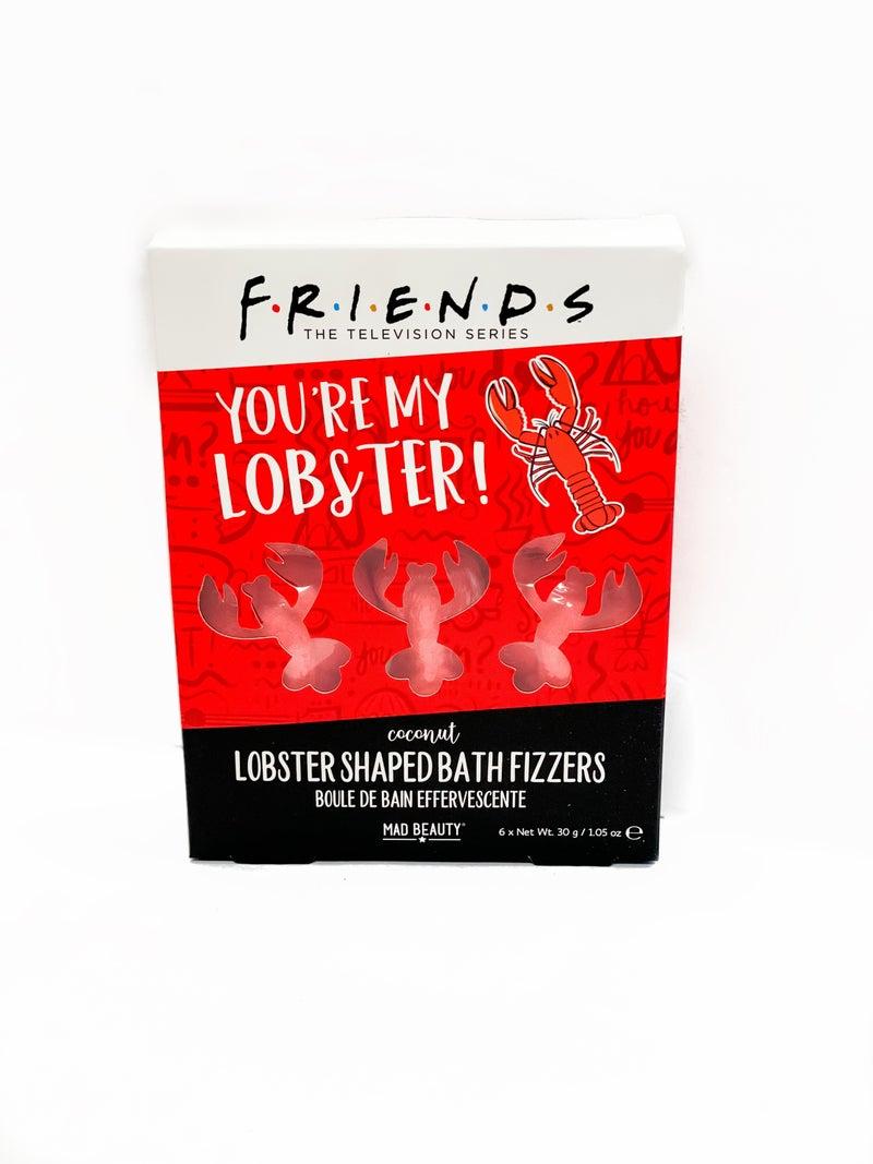 Friends Lobster Bath Fizzers