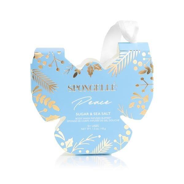 Butterfly Spongelle Ornament Sugar & Sea Salt