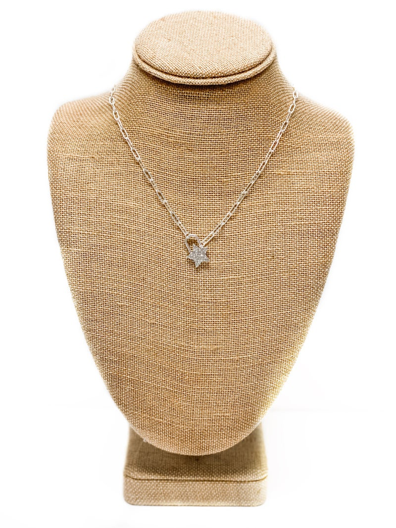 The Lizzie Necklace Silver