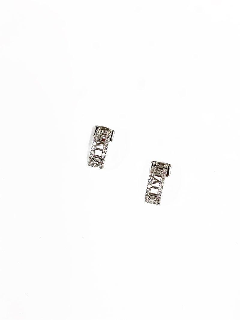 The August Earrings Silver