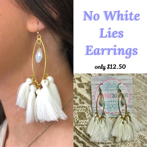 No White Lies Earrings
