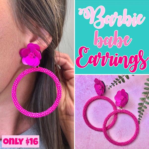 Barbie Babe Earrings FINAL SALE