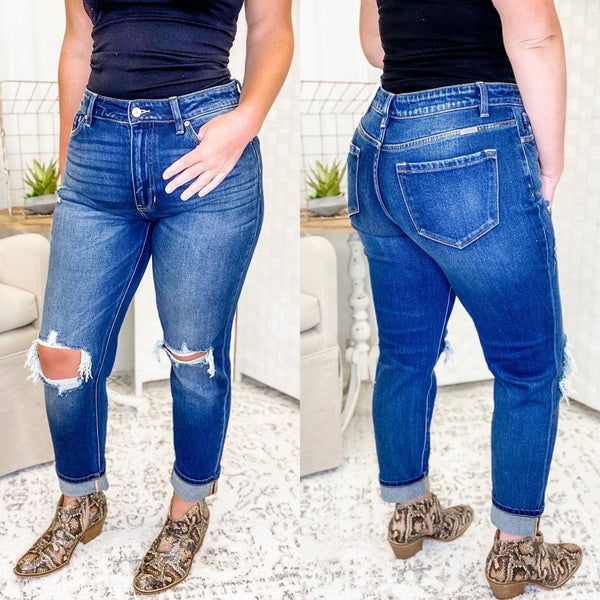 The Maranda Jeans Dark Wash