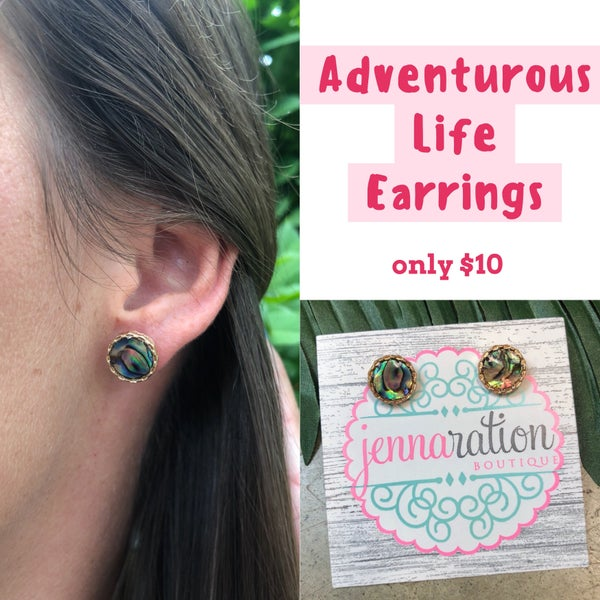 Adventurous Life Earrings
