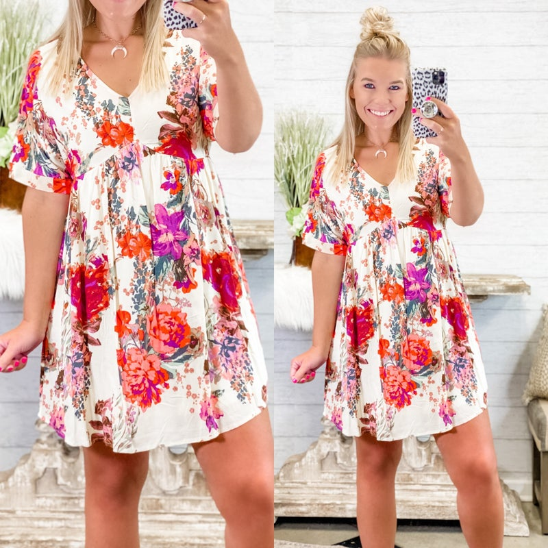 Blossoming Into Spring Dress *Final Sale*