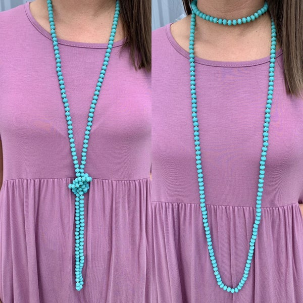 Dream Away Wrap Necklace