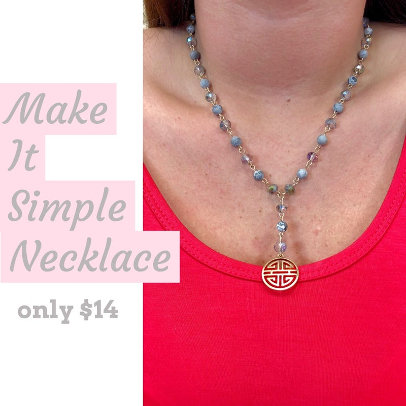 Make It Simple Necklace