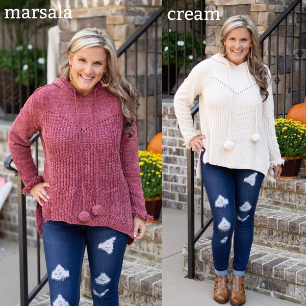 Love Me So Hooded Sweater *Final Sale*