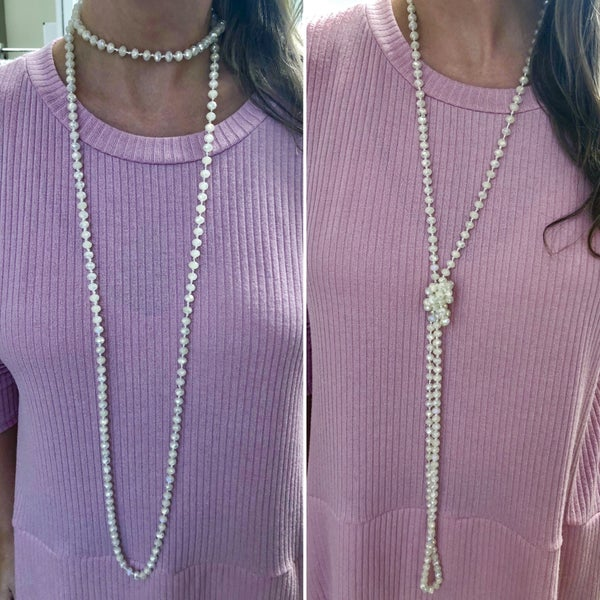 Never Look Back Wrap Necklace