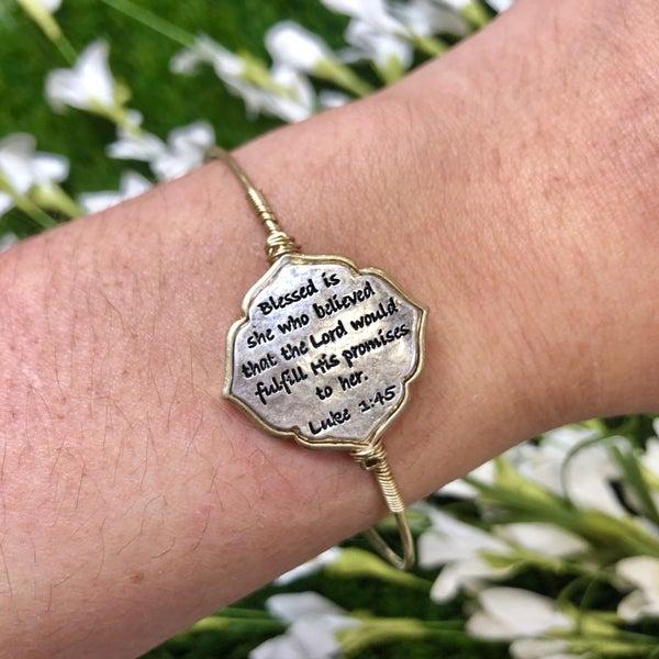 Luke 1:45 Bracelet