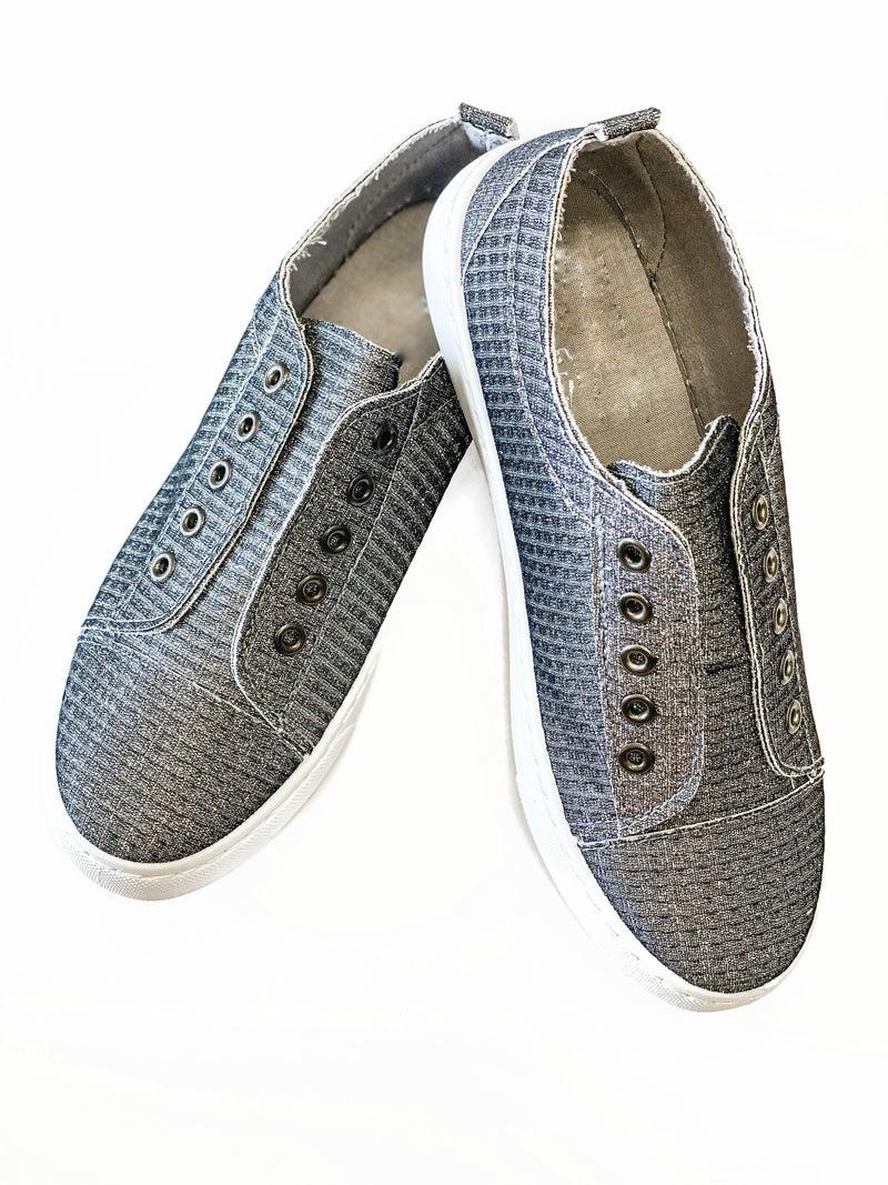 The Savannah Sneakers Pewter