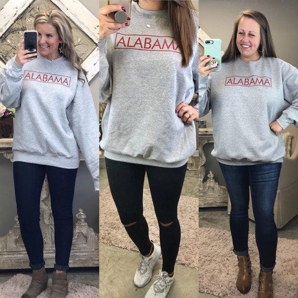 Alabama Babe Sweatshirt