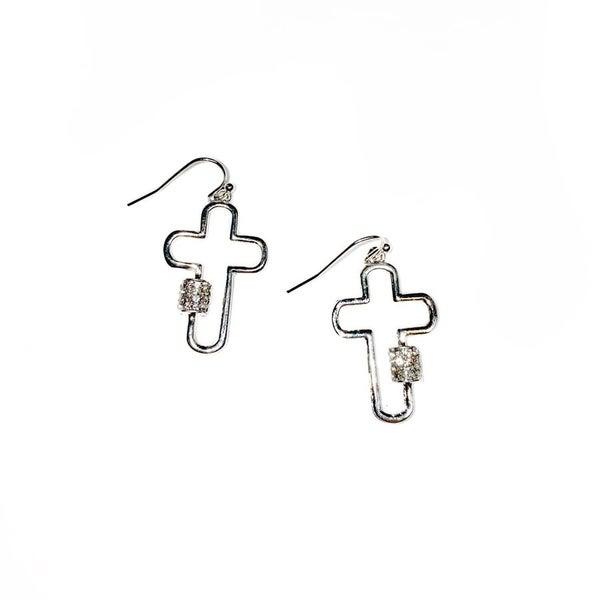 The Pat Earrings Silver